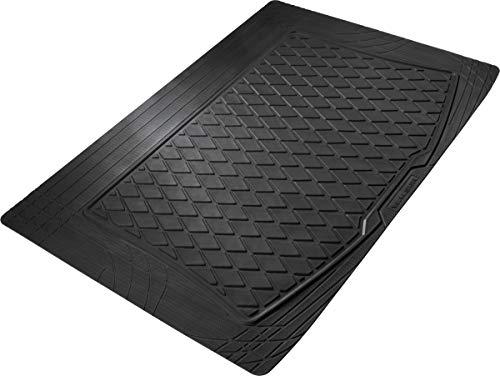 CarComfort Flexible Universal Kautschuk Kofferraum Wanne Safeguard NXT Gr. S 120x80 cm, individuell zuschneidbar, Anti Rutsch Beschichtung