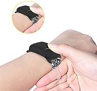 PANGHU Dispenser di disinfettante per Le Mani Confezione da 5 Pezzi di disinfettante per Le Mani in Silicone Ricaricabile Braccialetto disinfettante per Adulti e Bambini (Nero) #5