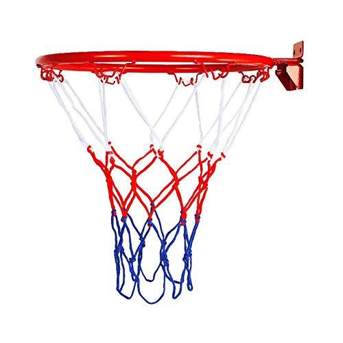 Basketball Hoop, Over The Door Shatterproof Backboard Hanging Wall Mounted Goal Hoop Rim Ball Returns with Net Screw Indoor Outdoor Sports for Home, Office, Dormitory Room