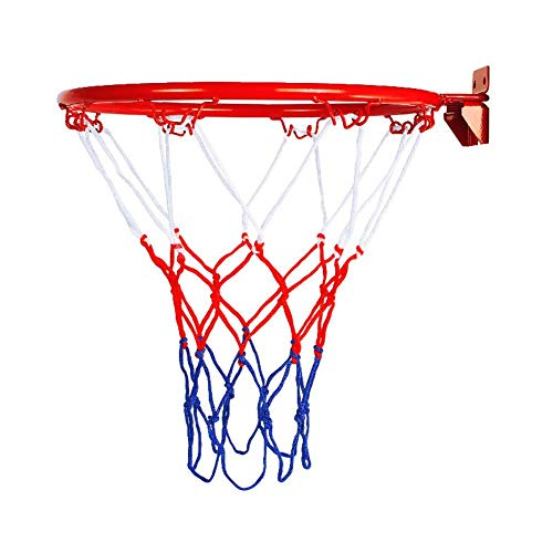 Basketball Hoop, Over The Door Shatterproof Backboard Hanging Wall Mounted Goal Hoop Rim Ball Returns with Net Screw Indoor Outdoor Sports for Home, Office, Dormitory Room