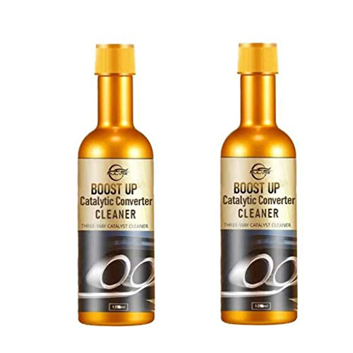 95 Catalytic Converter Cleaner Reiniger,120mlX2 Auto Katalysator Reiniger für Motor Katalysator Booster,für Benzin,Diesel,Hybrid Catalytic Converter Cleaner Engine Booster Cleaner
