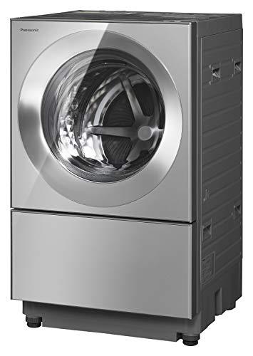 パナソニック ななめドラム洗濯乾燥機 Cuble(キューブル) 10kg 左開き 液体洗剤・柔軟剤 自動投入 ナノイーX プレミアムステンレス NA-VG2500L-X