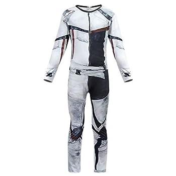 Tsyllyp Jay Carlos Costume Jumpsuit Bodysuit for Boys Halloween Cosplay