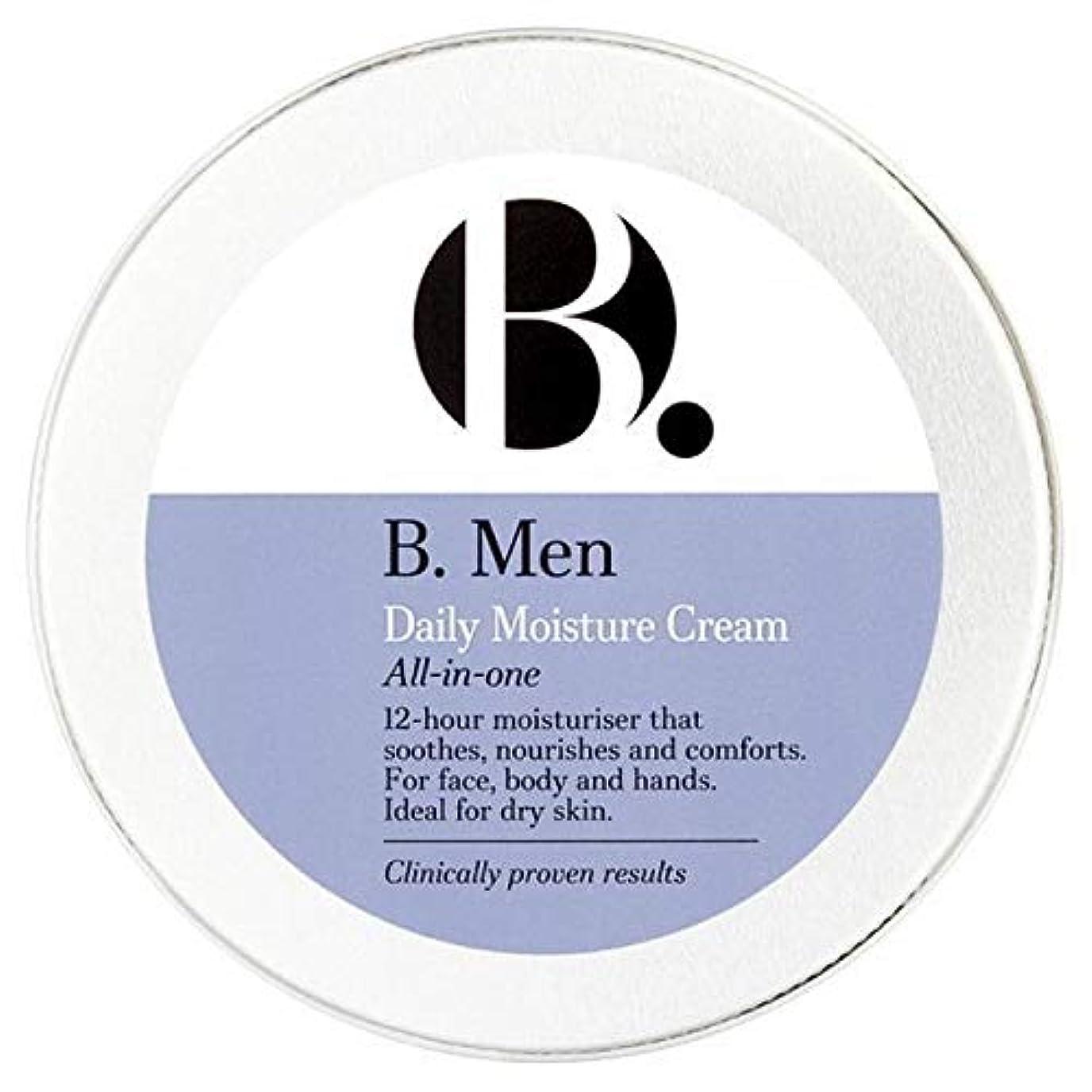アパート研磨頑固な[B Men] B。男性用保湿錫140ミリリットル - B. Men Moisturiser Tin 140ml [並行輸入品]