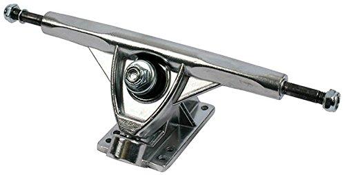 2 x V2 180mm Trucks Chrom oder Schwarz Longboard Cruiser Achsen (Chrom)
