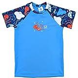 Splash About - Camiseta Unisex para niños con protección contra el Sol, Unisex niños, Protección Solar UV, UVRTUS2, Bajo el mar, 2-3 años