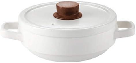 WZWHJ Casserole, convenient storage, anti scalding handle, non slip pot bottom, vent design