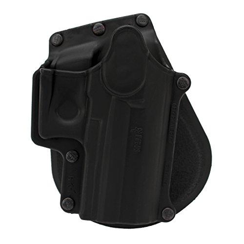Fobus HK1 Standard Hoslter for H&K USP 9mm & .40 Full Size & 9mm .40 & .45 Compact, Ruger SR40, SR9 & SR9C, Walther PPS M2 9mm, Right Hand Paddle,Black