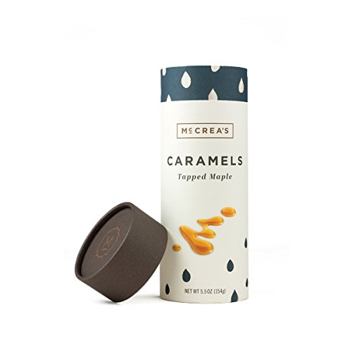 McCrea's Candies Tapped Maple Caramels Made in Boston
