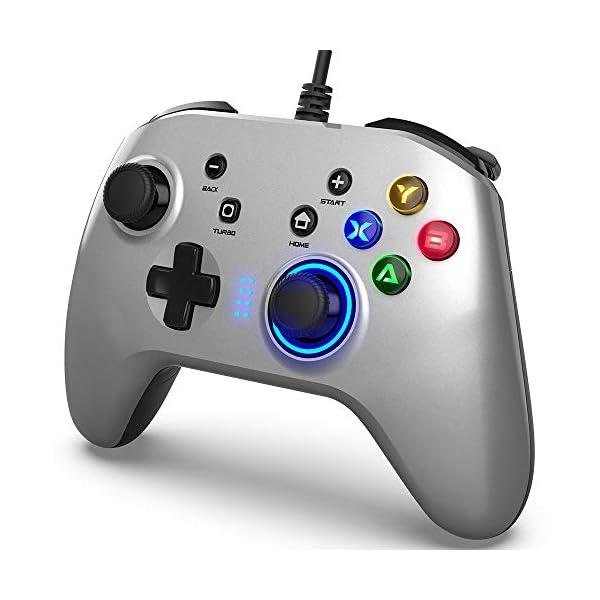 BIMONK-Manette-Gaming-pour-PC-USB-Wired-Gamepad-Manette-du-Contrleur-de-Jeu-Filaire-avec-Double-Vibration-Idal-pour-PS3-Switch-Windows-1087-PC-Laptop-TV-Box-Android