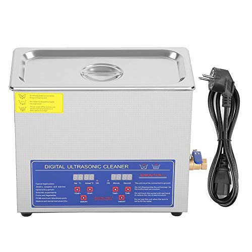6L Digital Ultrasonic Cleaner Digital Ultrasonic Cleaner Digital Ultrasonic Cleaners Detergenti per gioielli Detergenti per occhiali Utensili per la pulizia 220V