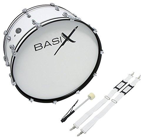 BASIX F893121 24 x 12-Inch Marching Bassdrum
