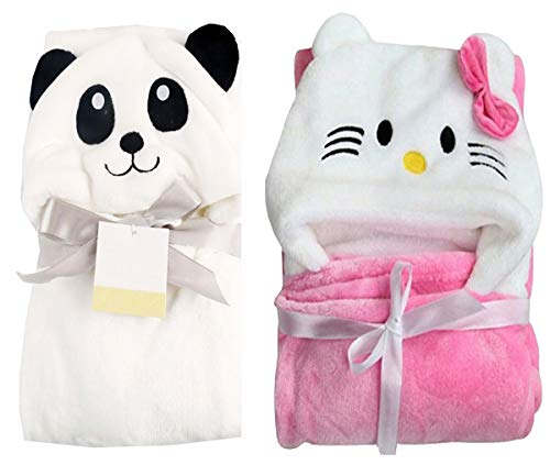 MY NEWBORN Baby Blanket Sleeping Bag Towel Wrapper-Set of 2 Pc
