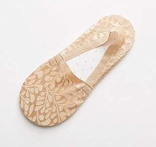 Calcetín de algodón para Mujer 1 par de Zapatillas de calcetín para Mujer, Calcetines, Zapatillas de Verano, Corto, de Encaje de Nylon sólido, Calcetines de Malla para Mujer, calcetine