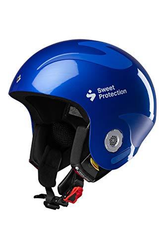 Sweet Protection Volata Casque de Ski/Snowboard Mixte Adulte Bleu Racing ML