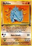 Pokemon - Rhyhorn (61) - Jungle 1st Edition