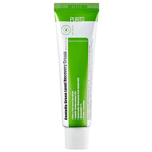 PURITO Centella Green Level Recovery Cream 50ml/ 1.7 fl.oz Cica face cream, Sensitive skin, Age Spots, Skin Tone, Firming, soothing,