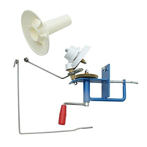 SHIJING Handmatige kabel winder huis grote metalen garen fiber lijn bal schapen winder beugel winder fiber 10oz heavy duty