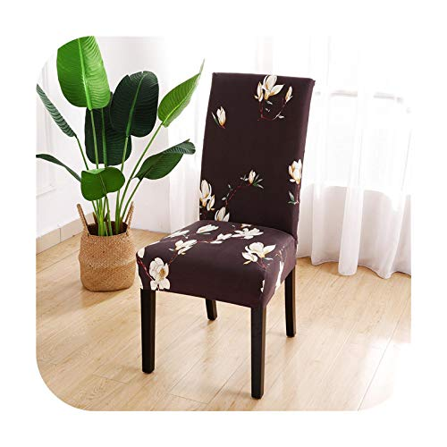 sexy-drunk Stretch Elastic Chair Covers for Wedding Banquet Office Kithen Dining Room Spandex Washable Chair Cover-Color 22-Universal Sizes