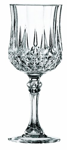 Cristal d´Arques, Longchamp Weinkelch 170ml, ohne Füllstrich, 6 Stück