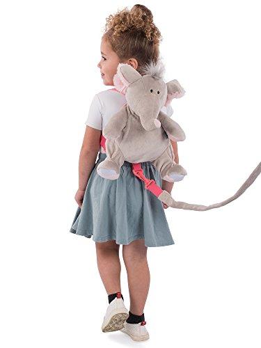 Animal Planet Sac à dos 2 en 1 avec harnais, éléphant