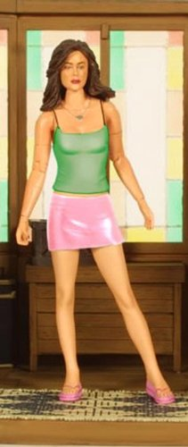 Charmed Exclusive Paige Matthews Green Blouse Figure