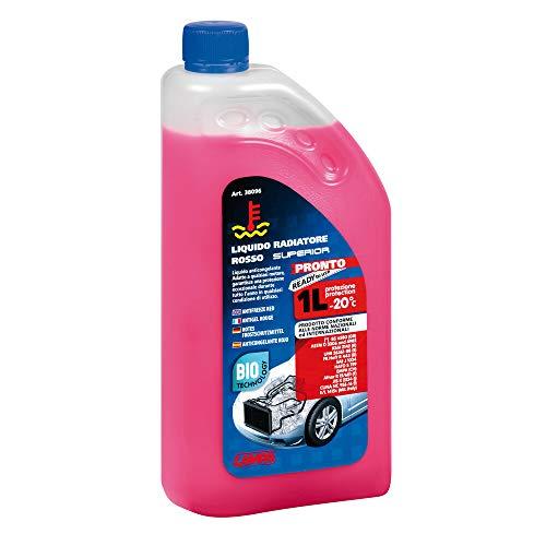 Lampa 38096 Liquide de Refroidissement Prêt (-20°) 1 Litre-Flacon Rouge