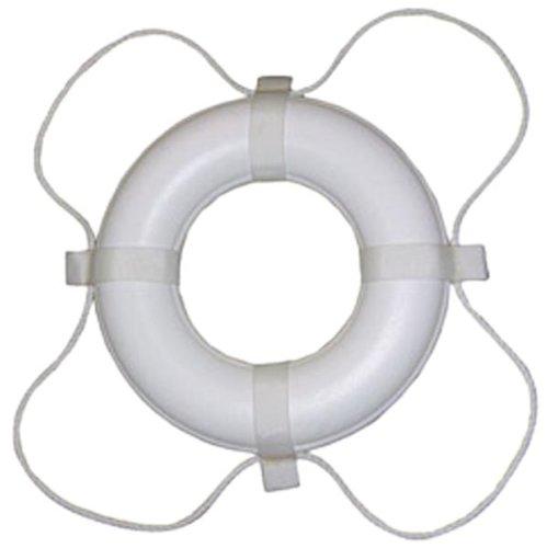 TaylorMade Produkte 36124Polyurethan-Schaumstoff Marine Life Ring mit Haltegriff Lines-White