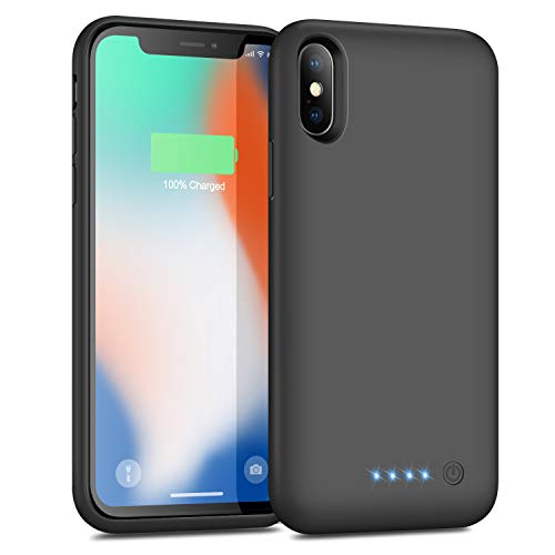 Battery Case for iPhone X/XS/ 10, Portable Battery Pack 6500mAh...