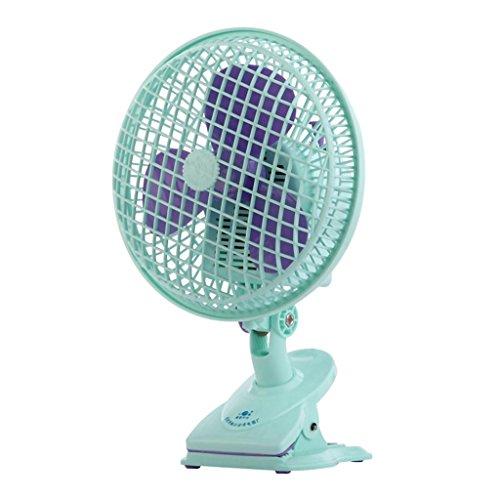 MFFACAI MNII Mini Ventilatore, Ventilatore di Morsetto del Comodino, Tipo Compatto Desktop Muto, Ministero degli Interni