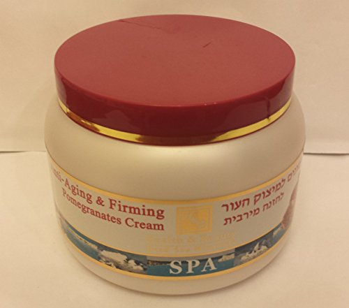 Mer Morte cosmétique - Health and Beauty Dead Sea Minerals - Crème raffermissante à la grenade - 250 ml