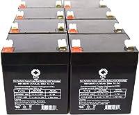 12V 5Ah APC Smart - UPS 3000ラックマウント2u (smt3000rm2u) UPS交換用バッテリーSPSブランド(8パック)