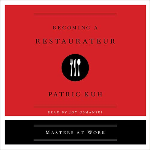 Becoming a Restaurateur audiobook cover art