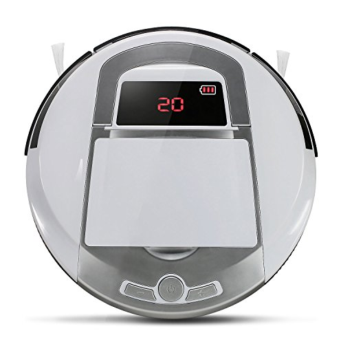 EVERTOP Robot Sweeper, Intelligent Automatic Floor Cleaner with...