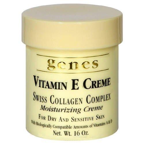 Crema genetica alla vitamina E, 16 once, confezione da 4