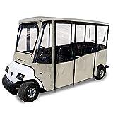 Eevelle Greenline Drivable 6 Passenger Golf Cart Enclosure Club Car 2018+