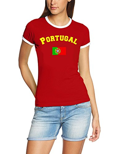 World Cup 2018 Football All Nations Women's T-Shirt Jersey S-XXL Germany England France Brazil All 32 Countries, Portugal, M