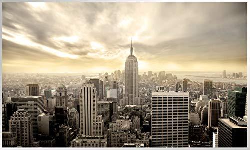 Könighaus Fern Infrarotheizung – Bildheizung in HD Qualität mit TÜV/GS - 200+ Bilder - 800 Watt (152. New York Vogelperspektive)