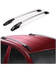 Dhe Best RF-03 Car Drill Free Roof Rails Silver/Chrome for Chevrolet Spark Model 1