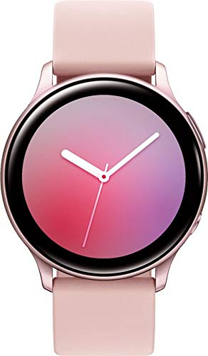 Samsung Galaxy Watch Active2 (Silicon Strap + Aluminum Bezel) Bluetooth - International...