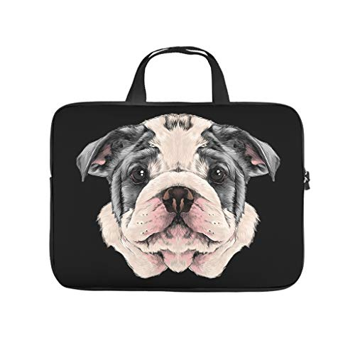 Dog Animal Laptop Waterproof Lightweight Multi-Color 10-17 Zoll for School Students White 13 Zoll