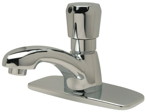 Zurn - Z86100-XL-CP4-TMV-1 - Brass Bathroom Faucet, Push Handle Type, No. of Handles: 1
