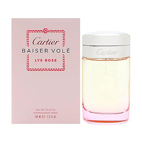 Baiser Volè Lys Rose Eau de Toilette 100 ml Spray Donna