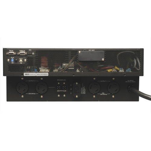 Tripp Lite SU5000RT4UHV 5000VA 4500W UPS Smart Online Rackmount 5kVA 200V/240V 4URM RT, 4 Outlets