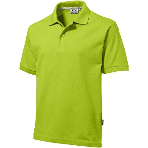 Slazenger - Polo - - Col boutonné Homme Vert Green - Apfelgrün