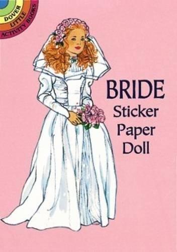 Bride Sticker Paper Doll (Dover Little Activity Books)