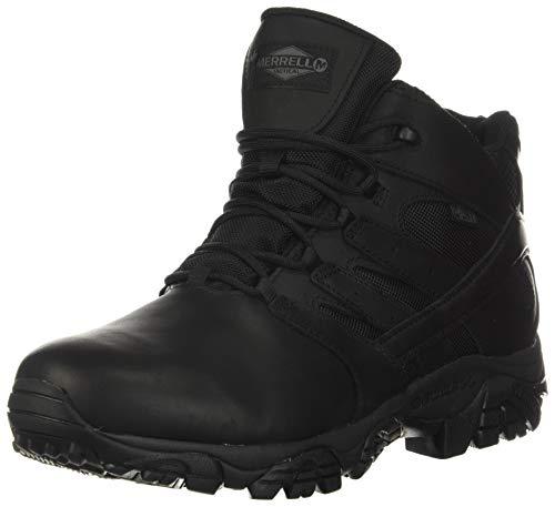 Merrell Moab 2 Mid Tactical Response Waterproof Boot Men 4 Black