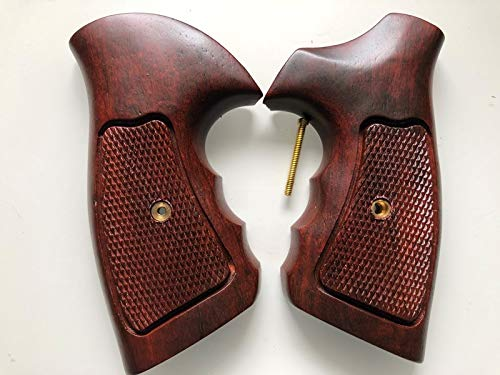 New Taurus Medium/Large Frame Revolver Grips.357, 6 Shot, Checkered Hardwood