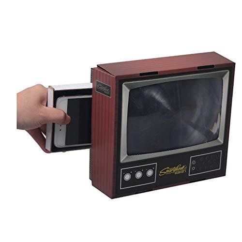 Vintage TV móvil Smartphone Bildschirmlupe Videoverstärker amplificadores Expander Caballete para Video TV Show: Amazon.es: Electrónica