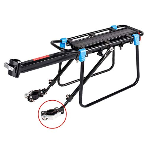 New GBZZ Bicycle Rear Rack, Bicycle Pannier Rack Biking Bike Carrier Rack Universal Adjustable Bicycle Luggage Cargo Rack Cycling Equipment (Color : A)